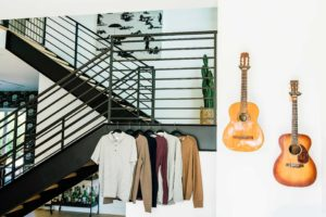 Rack of clothes styled by Bree Jacoby